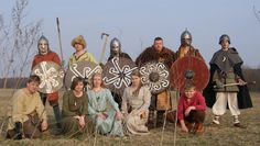 Poland - Slavic costumes from c. 10th-11th centuries