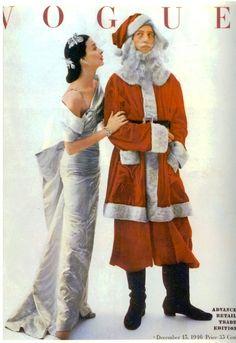 Vintage Vogue Christmas