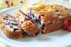 Lemon Blueberry Bread recipe tastes like a rich, moist blueberry lemon cake. Bisquick keeps it simple, cream cheese keeps it rich and I keep it healthy.