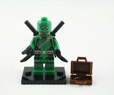 Minifigures Green Deadpool Anti-hero Weapon X Wade Winston Wilson Building Toys G Man, Building Toys, Weapon, Deadpool, Hero, Weapons, Gun, Firearms