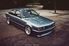 BMW E34 535 #stanceworks #Rvinyl & #BMW: A match made in heaven. Spend your time doing something useful this Thanksgiving like drooling over these pics.
