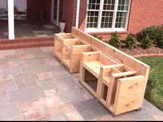 outdoor bbq cabinet/counter | bbq kitchen ideas | Pinterest ...