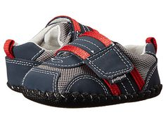 pediped Adrian Original (Infant) Navy/Grey/Red - Zappos.com Free Shipping BOTH Ways