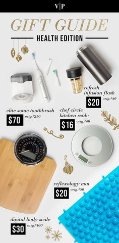 """Vanity Planet 2015 Holiday Gift Guide - Health Edition 