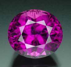 8.14ct pure purple tourmaline