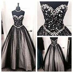 Back Up Long Ball Gowns Prom Dresses,Modest Evening Dresses, Sweetheart Party…