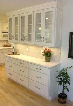 Kitchen Cabinets 18 Deep Wall Buffet Cabinet White Shaker