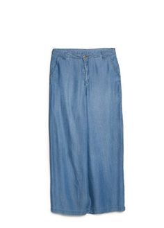 Is it wrong to love these? I want to hem them to just below the knee for the perfect denim culottes.