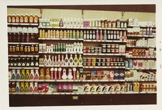 1970 Shampoo and Hair Products    Hy-Lo Drug Store, Southern California, circa July 1970.