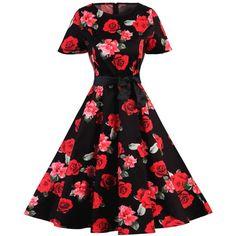 Polka Dot Vintage Dress ($21) ❤ liked on Polyvore featuring dresses, spotted dress, dot print dress, vintage day dress, polka dot dress and dot dresses