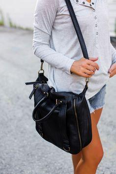 Dottie Couture Boutique, Black Faux Leather, Shoulder Strap, Super Cute, Bags, Fashion, Handbags, Moda, Fashion Styles