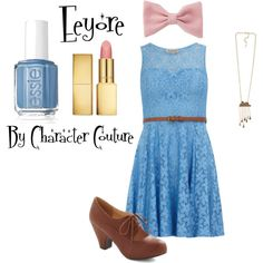 Eeyore from Winnie the Pooh Inspired Outfit