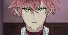 """get your paws off of her, she's mine! Azusa Mukami, Reiji Sakamaki, Anime Guys, Manga Anime, Diabolik Lovers Ayato, Diabolik Lovers Wallpaper, Anime Watch, Secret Places, Tokyo Ghoul"