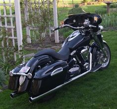 yamaha roadstar bagger - Google Search
