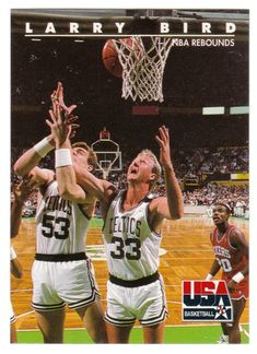 Larry Bird # 18 - 1992 Skybox USA Team Basketball