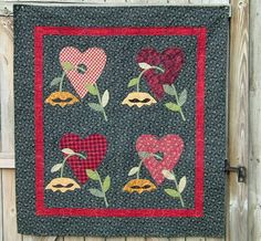 Karen Beigh: Ginger Cookie Company pattern called Heartstrings