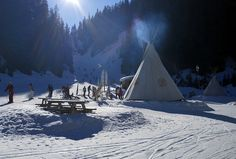 Teepees by MalB, via Flickr