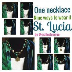 the lovelee girl: 365 - St. Lucia Necklace by Premier Designs Jewelry. One necklace, nine ways to wear it.
