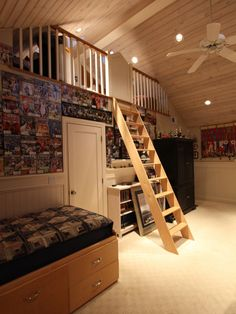 Bedroom Loft Design, Pictures, Remodel, Decor and Ideas - page 9