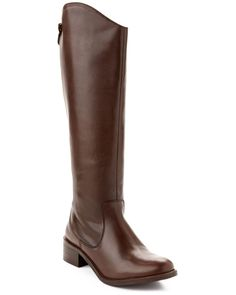 Seychelles Event Leather Riding Boot Chocolate