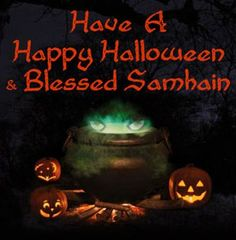 Samhain, the pagan festival of the dead that takes place at the same time as the Chrsitian one