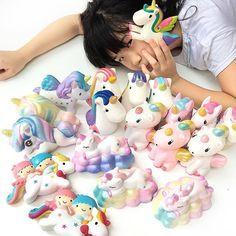 Heyy...meet the unicorns family #unicornlover #unicornlove #unicornsquishy #wawaiiunicorn #wawaiisquishy #bunnyscafesquishy #toysboxshopsquishy #littletwinstarsquishy #unicornicecream #squishyspam #squishylover