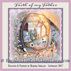 Faith of My Father Egg ePattern - Martha Smalley - PDF DOWNLOAD