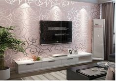beibehang Non wovens Wallpaper Romantic Rose Warm Wedding Room Bedroom Living Room TV Background Wallpaper papel de parede 3d Wallpaper Roll, Embossed Wallpaper, Brick Wallpaper, Modern Wallpaper, Rose Bedroom, Tv In Bedroom, Home Decor Bedroom, Tv Unit Decor, Living Room Background
