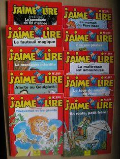 """Les livres de la collection """"J'aime lire"""""""