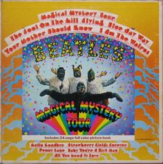 10/January/2017 The Beatles - Magical Mystery Tour. The TV film was great to my Beatle loving, critical-free, eyes. The Double EP soundtrack that went with it even more so if only for its oddness. This I bought to play at discos and because I wanted to listen to the songs 5 or 6 at a time. And what songs!