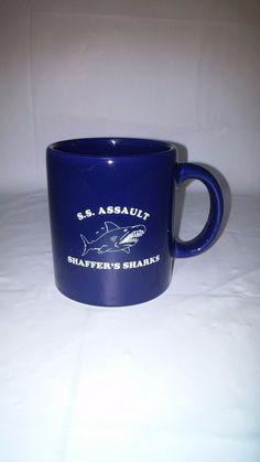 S.s. Assault Shaffer's Sharks Mug Waechtersbach Made In Spain Cup