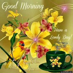 Lovely Spring Good Morning Quote