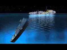 A detailed 3D reenactment of the Titanic by James Cameron