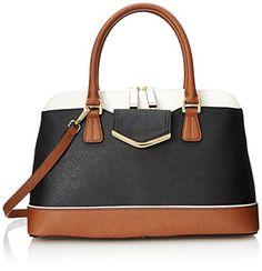Calvin Klein Saffiano Colorblock Satchel Top Handle Bag, Black Combo, One Size Calvin Klein http://www.amazon.com/dp/B00MWUHQPI/ref=cm_sw_r_pi_dp_wxsAub1T9R386