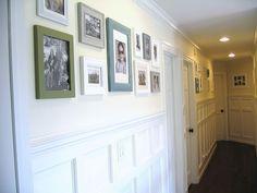 Was plain hallway now... gorgeous!!