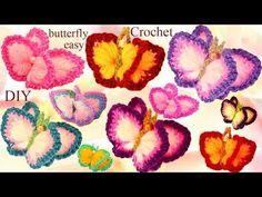 CROCHET: Mariposa - YouTube