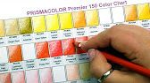 Coloring Prismacolor Premier Color Swatches Live - YouTube