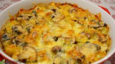 Cheeseburger Chowder, Quiche, Macaroni And Cheese, Good Food, Food And Drink, Soup, Vegetarian, Tasty, Healthy Recipes