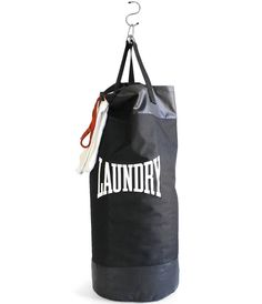 coolest laundry bags evar: our personal favorite, the Laundry-Punching Bag via Suck UK