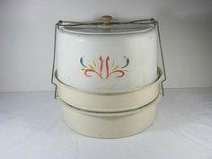 Vintage Cake Carrier & Pie Safe   by LavenderGardenCottag