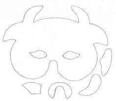 mascara carnaval animais eva (7)