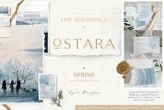 Ostara - Spring Rituals & Mockups by OpiaDesigns on @creativemarket