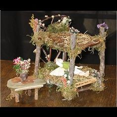 Fairy bunk beds!