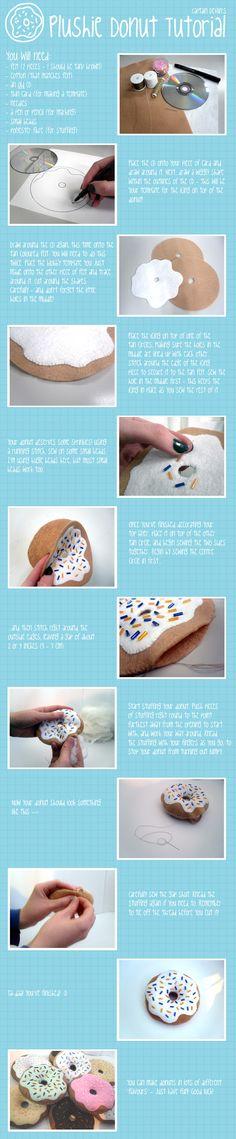 Plush Donut Tutorial by *devliann on deviantART