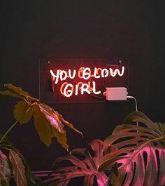 Neon » you glow girl