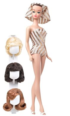 Amazon.com: Barbie Collector My Favorite Barbie - Barbie and Her Wig Wardrobe: Toys & Games