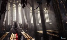 Throne hall, Daria Rashev on ArtStation at https://www.artstation.com/artwork/throne-hall-db82187a-6b39-46eb-b31a-b8038936651b