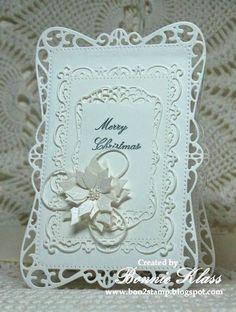 Merry Monday Christmas Challenge: Merry Monday #115 {White-on-White!}
