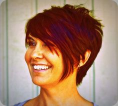 Short hair, in the hands of an expert artisan, is soft, sexy and totally on-trend.  Cut, color, and styling by C. Avery Salon master designer, Helene Ray.
