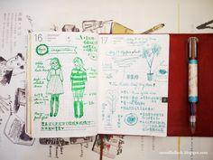 HOBO手帳 2013/9月